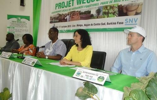 Gouvernance- locale –des- ressources- forestières- Le projet - Weoog-Paani -lancé