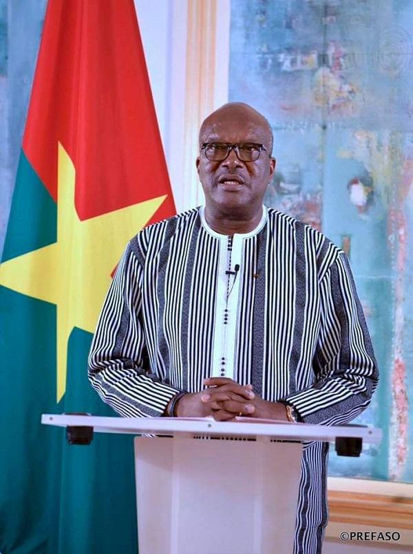MESSAGE-À-LA-NATION-DE-SEM-ROCH-MARC-CHRISTIAN-KABORÉ-PRÉSIDENT DU FASO,
