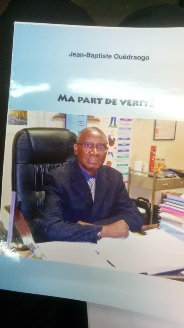 Burkina-jean-baptiste-ouédraogo-livre-ma-part-de-vérité