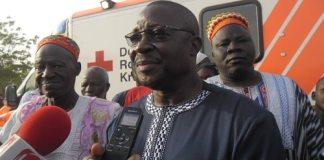 Kombissiri- le –village- de- Guirgho -reçoit –une- ambulance- médicalisée