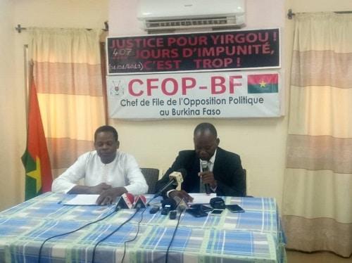 Politique- Notre- stratégie –est- que- le –candidat- Roch –Kaboré- échoue- dès- le- premier- tour- Yumanli- Lompo