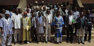 Le -gouverneur –de- la –région- du- Centre-sud -échange -avec – les- corps- constitués- de- la –province- du- Nahouri