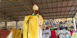 Pèlerinage -du -diocèse –de- Banfora-les –fidèles- ont- prié- pour- la- paix- au -Burkina