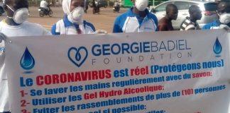 Lutte -contre -le -Covid -19-Géorgie -Badiel -Fondation -sensibilise -la -population