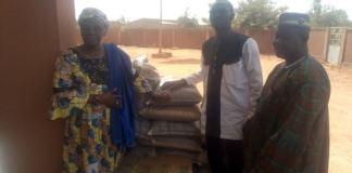 Journée -internationale -de -la –femme-le -groupe -G8 -offre -des -vivres -aux -déplacés -internes