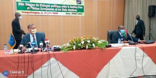 Coopération-le –Burkina- Faso- et- l-UE –en- conclave