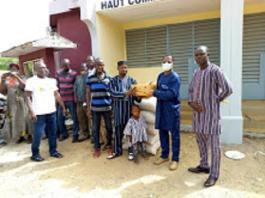COVID-19 –dans- le- Nahouri- le -CNEI –vient- en -aide -aux personnes- vulnérables