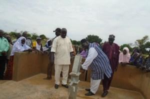 Yatenga -l'honorable -Wendyelé -Sawadogo -aux -côtés -des –déplacés- de- Kossouka
