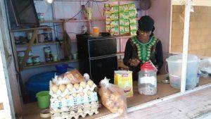 Bobo-Dioulasso- avec -25 –mille- francs- il -crée  -deux- blanchisseries- un –kiosque- et -un restaurant