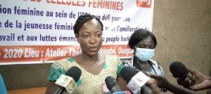 Jeunesse -féminine –consciente- et –active- l-ODJ –sensibilise- ses -militantes