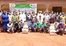 OCADES-Burkina-projet-EA/14 2020-lancement-dédougou
