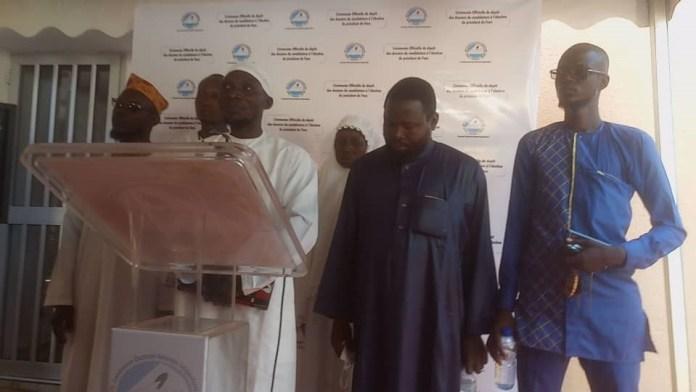 Course -à -la -présidentielle -Abdoulnassira Sanfo -a -déposé -sa -candidature