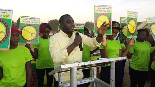 Législatives -2020-la –Coalition- AFA –débute- sa- campagne- à- l-arrondissement- 5