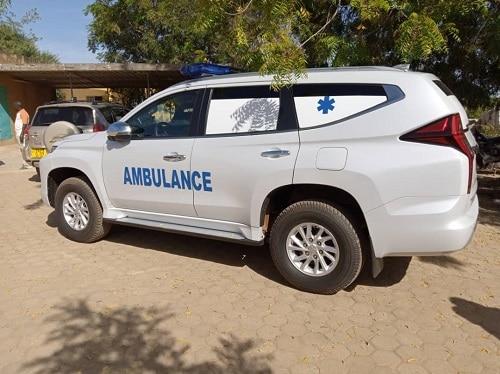 Kombissiri-une -ambulance -médicalisée -donnée -au -CMA