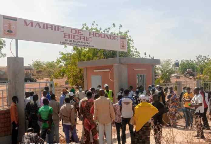 Commune- de- Houndé- le -maire -rend -compte -de -sa -gestion –à- la- population