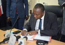 Secteur –des- mines- « nous- allons- travailler- pour -que -les -retombées –puissent- bénéficier- aux -populations »- Ismaël -Ouédraogo