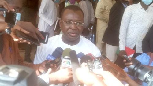 Ministère -de –la- communication - Ousséni –Tamboura- accueilli- dans -ses –nouvelles- fonctions