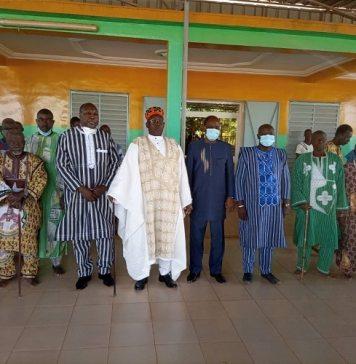 Réconciliation- nationale –Zéphirin- Diabré -rencontre -le –Dima- du- Zoungratenga- Roi -de -Tenkodogo