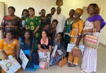 Houndé- le- maire –reçoit- le -réseau -des –vaillantes- éducatrices- du- Tuy