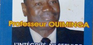 « Professeur –Ouiminga- l'intégrité- au- service- du- Burkina- et- de- l'-Afrique -», le –nouvel- ouvrage –de- Sidnoma- Issaka- Kaboré