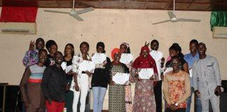 Journalisme-A –Koudougou- une- dizaine- de -jeunesse –apprennent- les -B.A -BA –du- métier