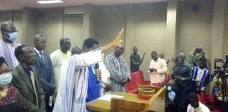 Burkina-Faso-les-nouveaux-commissaires-de-la-CENI-ont-prêté-serment