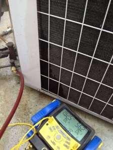 Air Conditioning Pressure Measurement