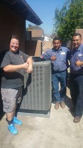 New Air Conditioning Installation Happy Customer