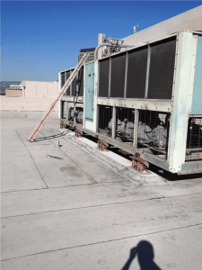 Rooftop industrial Air Conditioner