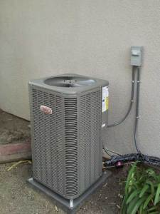 New Air conditioning condenser installation in the city of La Mirada