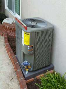 New air conditioning installation in the city of Whittier