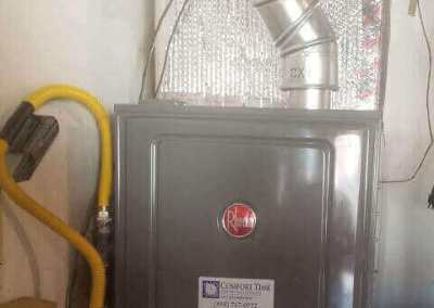 New furnace installation for a home in Norwalk