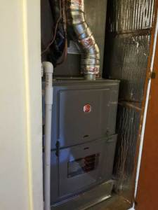 Closet Furnace Replacement