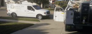 furnace installation in Cerritos with Comfort Time Heating and Cooling trucks