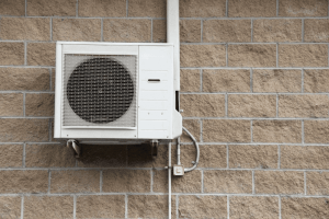 Wall mounted condenser