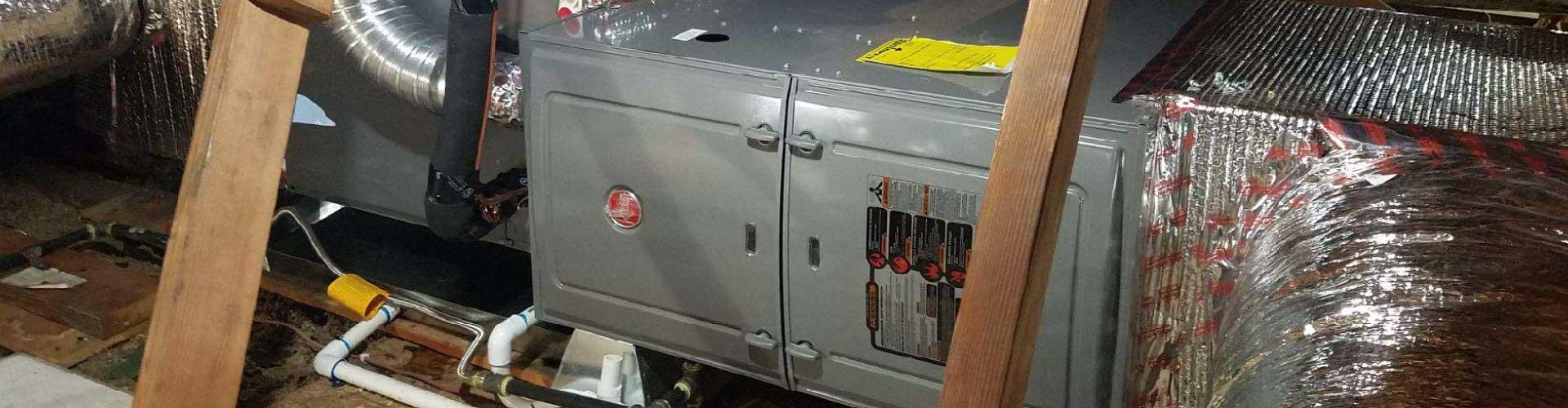 Rheem horizontal furnace installation