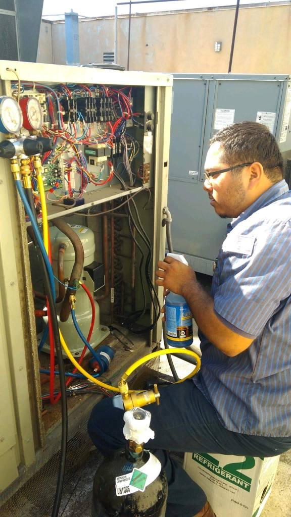 Commercial Package Unit Installation