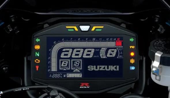 GSX-R1000 Dash