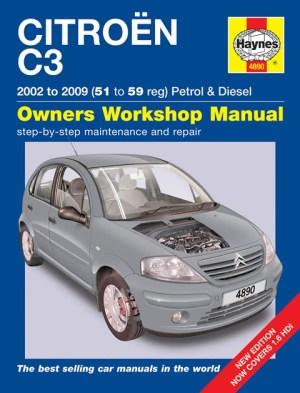 HAYNES WORKSHOP REPAIR OWNERS MANUAL CITROEN C3 PETROL & DIESEL 02  09 51  59 | eBay
