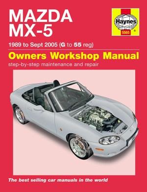 HAYNES WORKSHOP REPAIR OWNERS MANUAL MAZDA MX5 MX5 MK1
