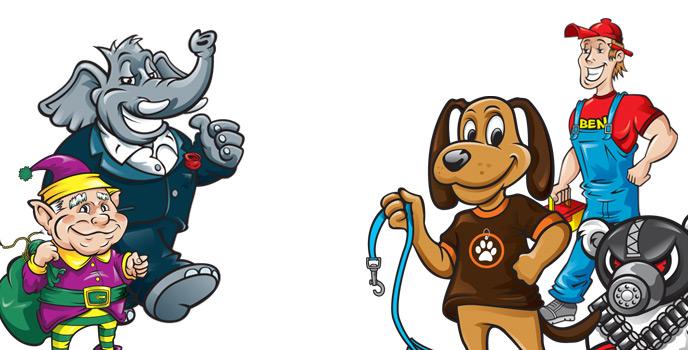 Mascots galore!