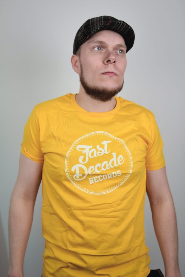 Fast Decade Records T-shirt mango