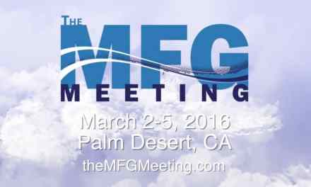 The MFG Meeting is Almost Here