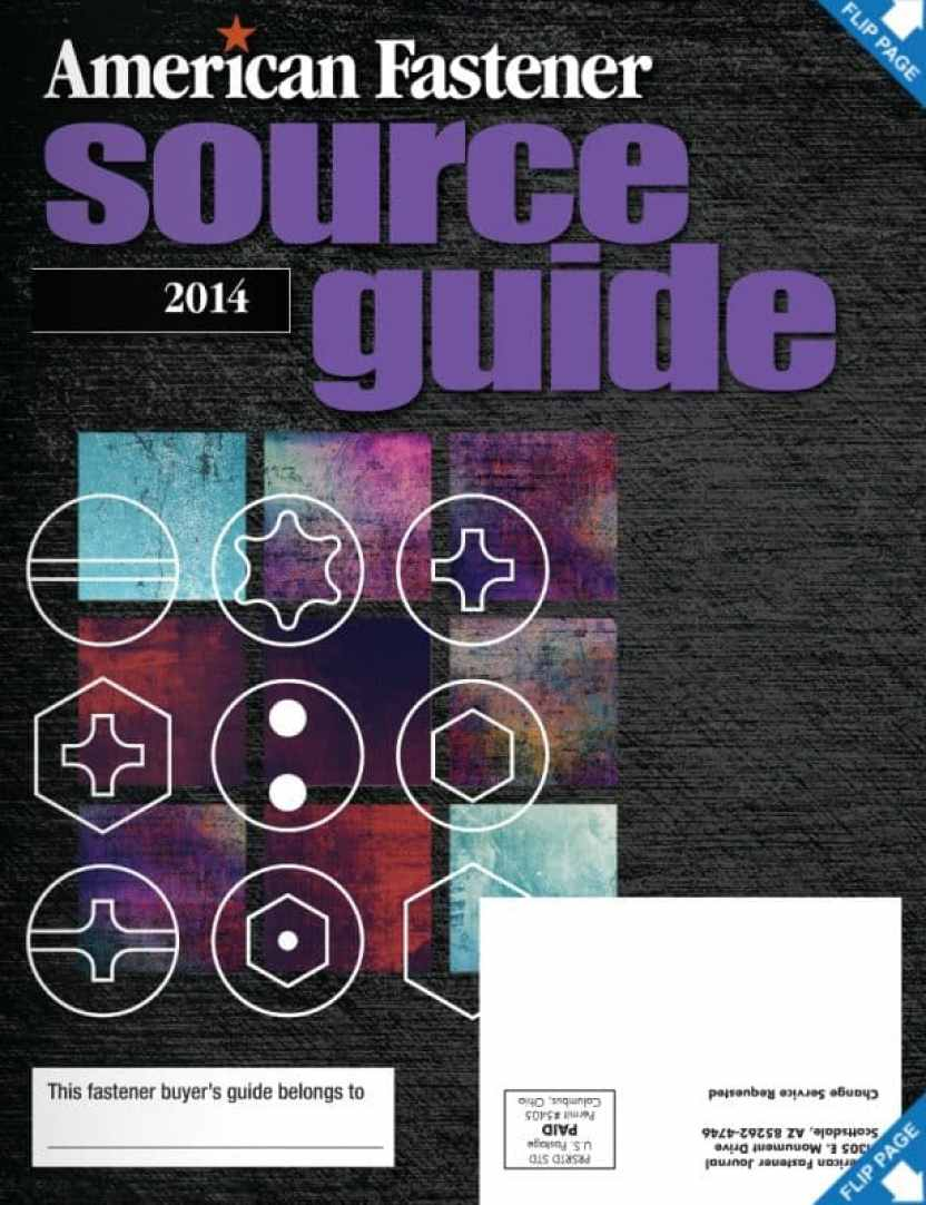 2014 American Fastener Journal Source Guide
