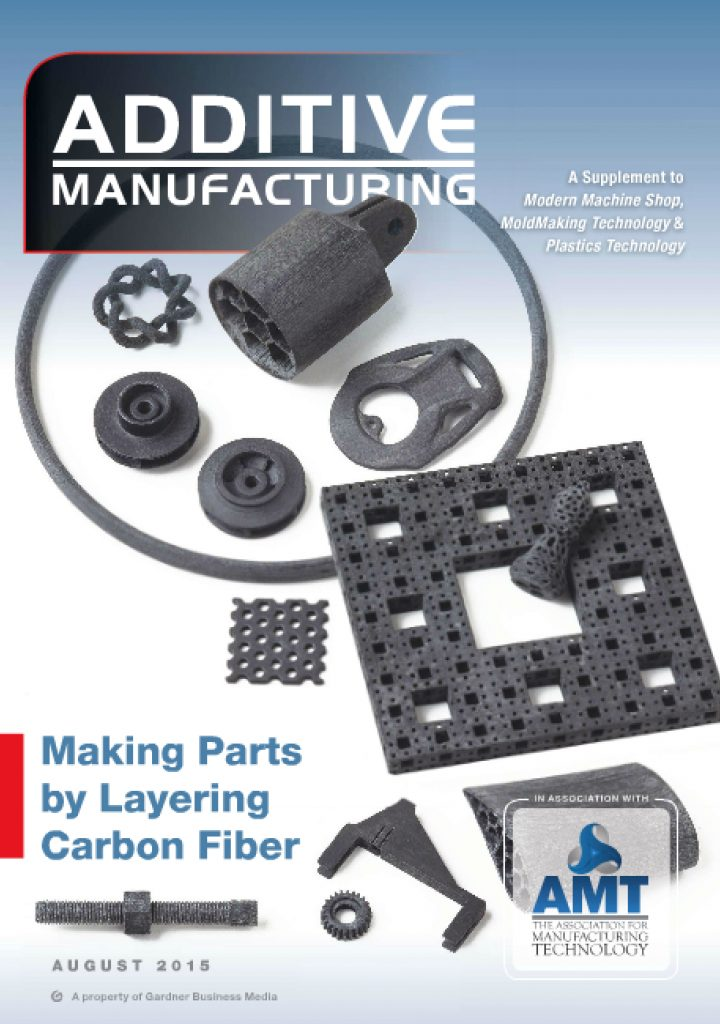 Additive Manufacturing August 2015