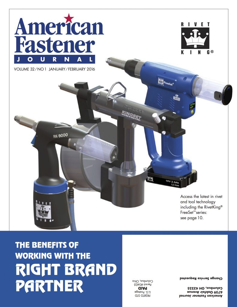 American Fastener Journal January February 2016