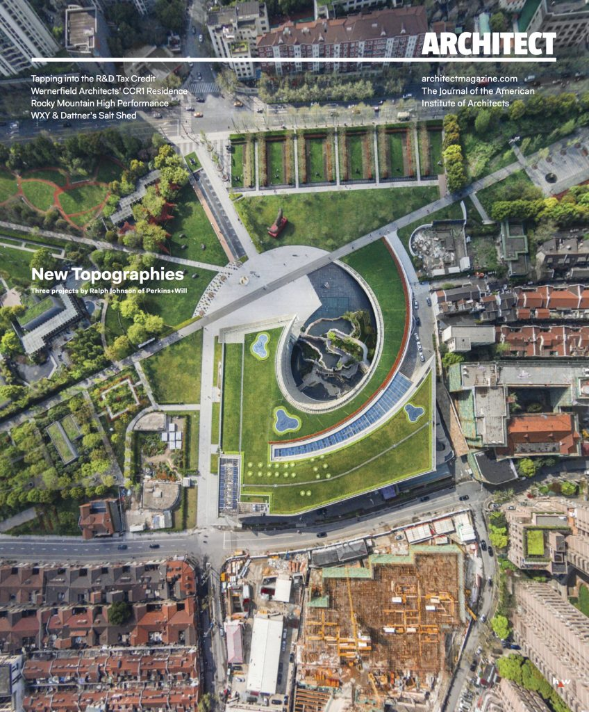 architect magazine march 2016