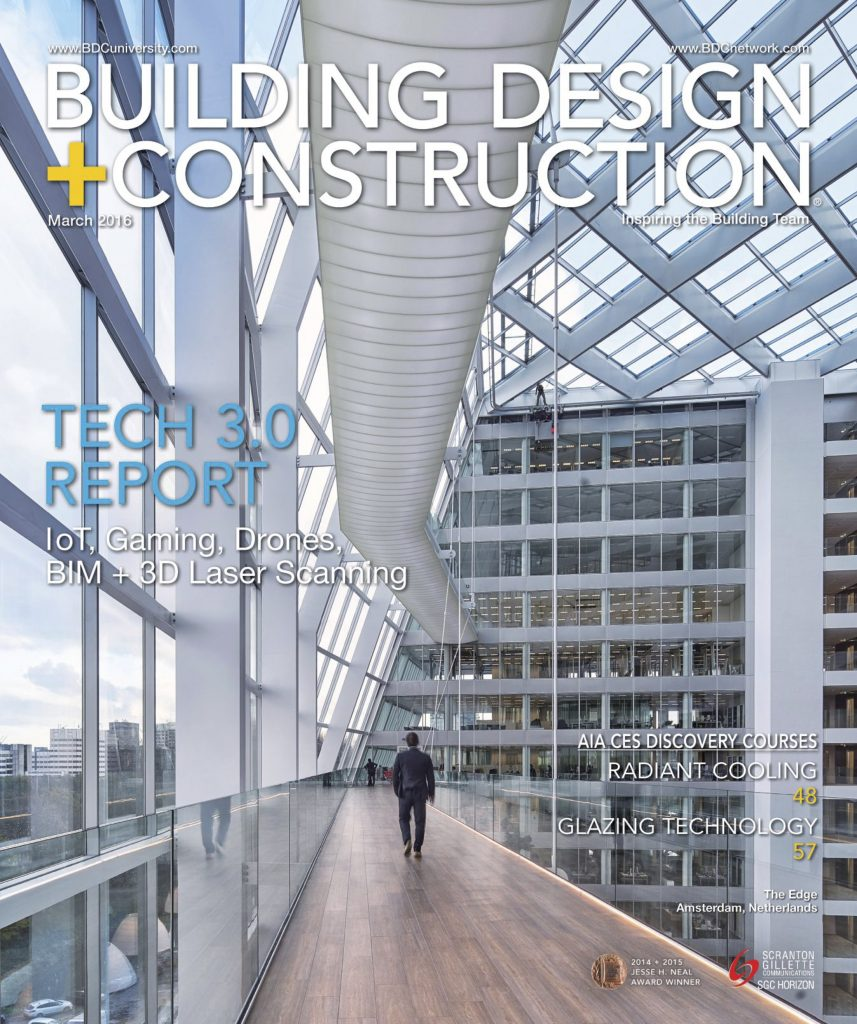 Building Design Construction Cover March 2016