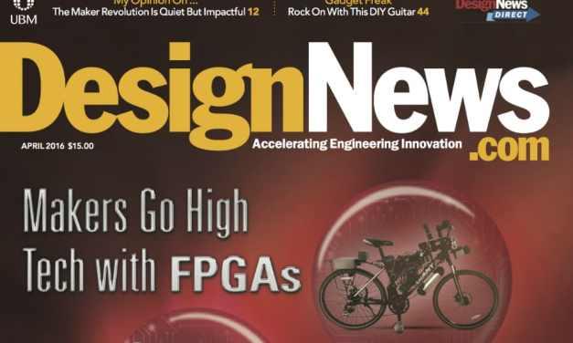 Design News, April 2016