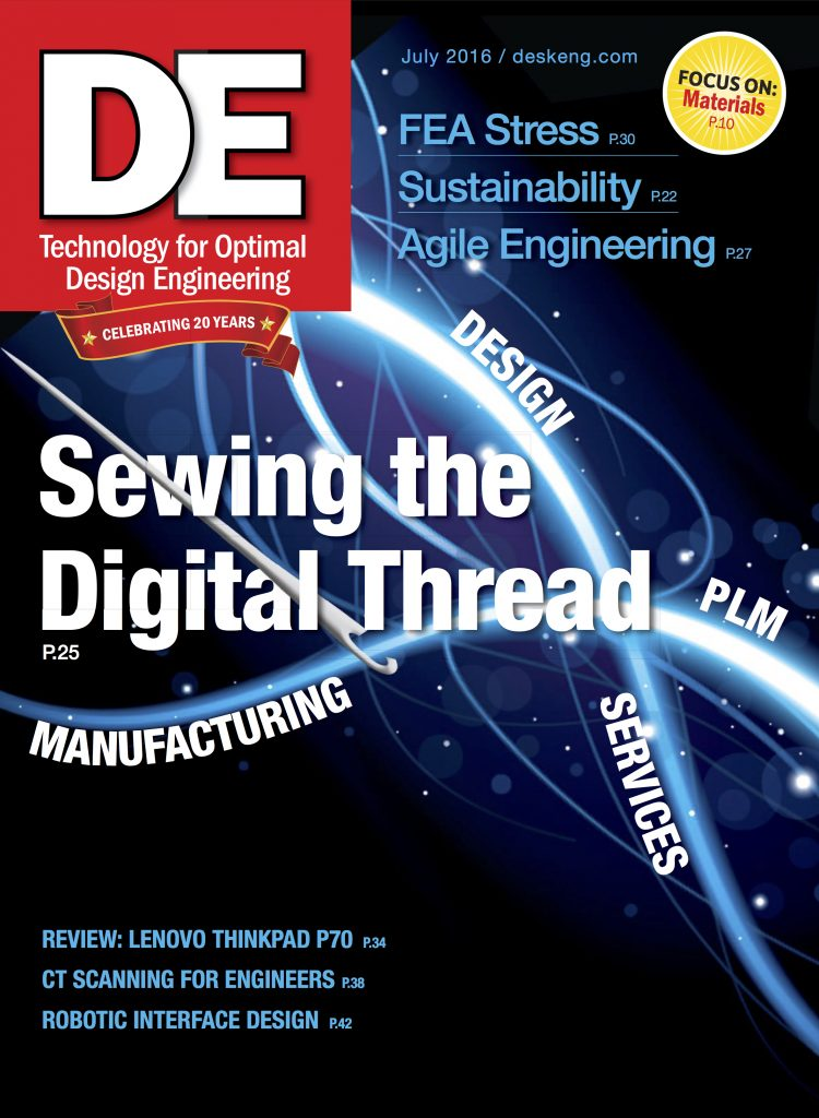 Desktop Engineering July 2016 COVER